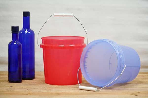 1 Gallon Plastic Bucket 1 Gallon Bucket With Lid