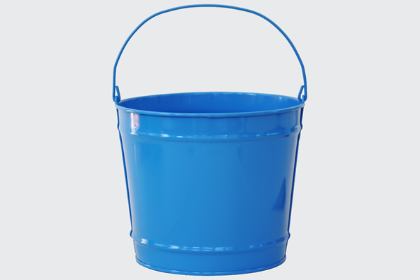 10 Quart Steel Buckets Color Gift Buckets Bucket Outlet