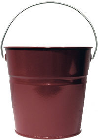 Burgundy Luster Pail