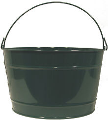 16Qt. Hunter Green Pail