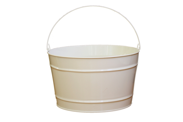 16 Quart Beige Bucket