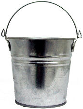 2Qt. Metal Bucket