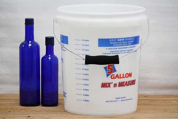 Measuring Bucket 5 Gallon Paint Bucket Bucket Outlet