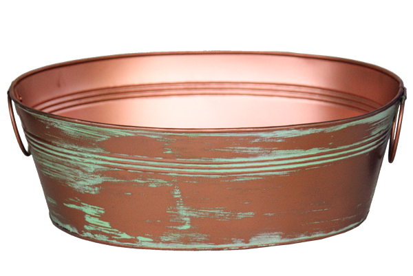 Antique Copper Tub