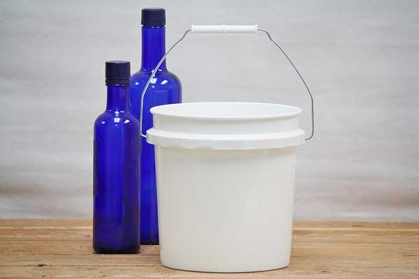 1 Gallon Bucket With Lid Food Grade Buckets Bucket Outlet