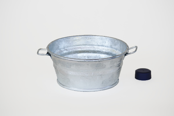 1 Quart Galvanized Pan
