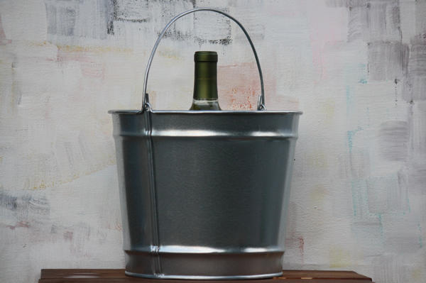 10 Quart Galvanized Bucket Steel Bucket Bucket Outlet