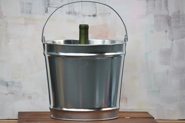 12 Quart Galvanized Bucket Steel Bucket Bucket Outlet