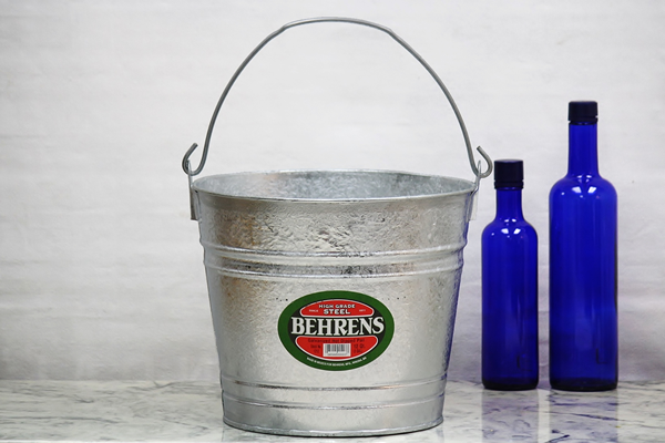 12 Quart Hot Dipped Bucket