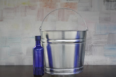 14 Quart Galvanized Steel Pail