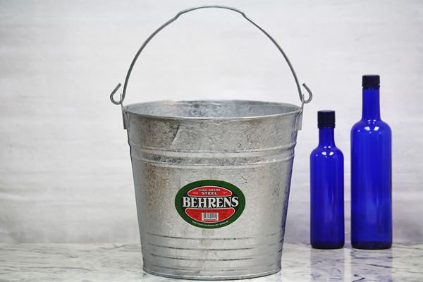 14 Quart Hot Dipped Bucket Steel Bucket Bucket Outlet