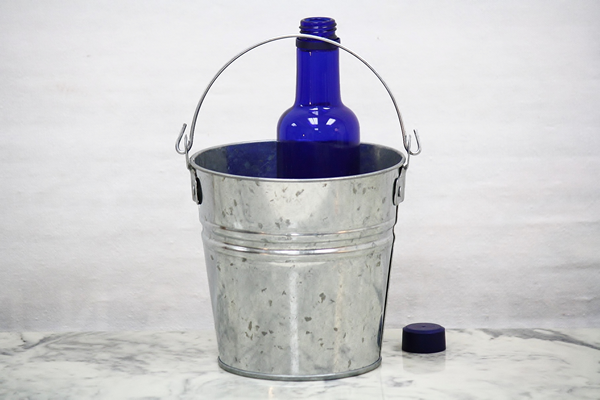 2 Quart Top Handle Galvanized Bucket Steel Bucket