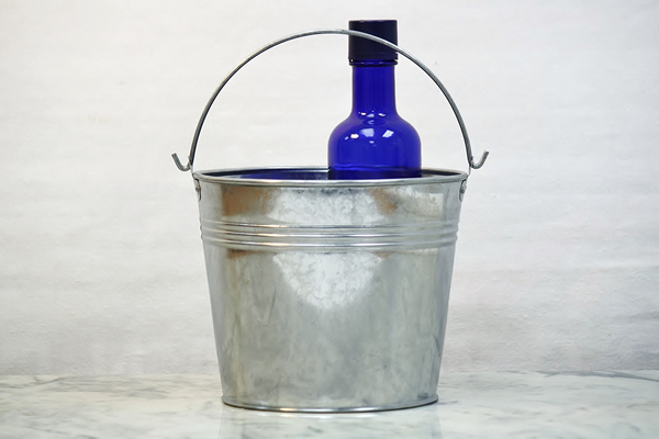 3 Quart Metal Buckets