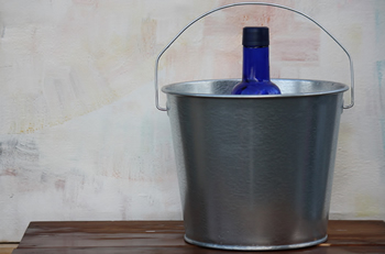 5 Quart Galvanized Bucket Steel Bucket Bucket Outlet