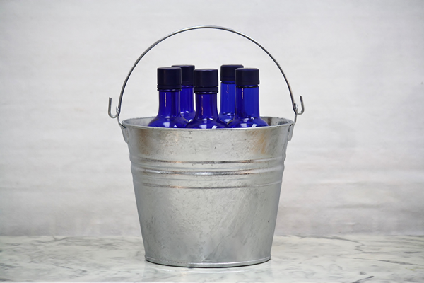 6 Quart Metal Hot Dipped Bucket