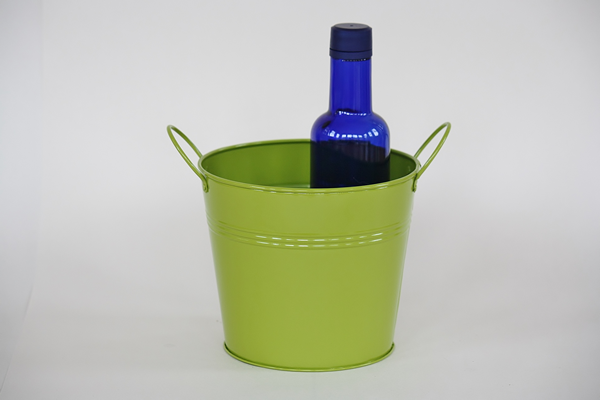 Green Centerpiece Buckets