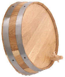Oak Barrel Ends