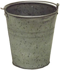 Acid Wash Galvanized Pail