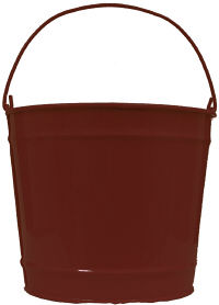 10Qt. Chocolate Brown Pail