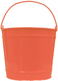 10Qt. Orange Peel Pail