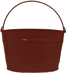 16Qt. Chocolate Brown Pail
