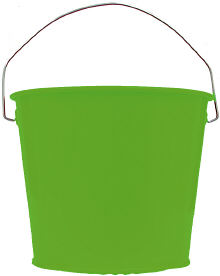5Qt. Electric Green Pail