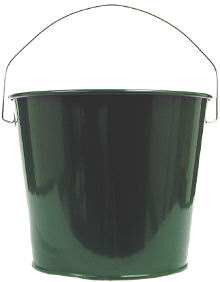 5Qt. Hunter Green Pail