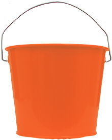 5Qt. Orange Peel Pail