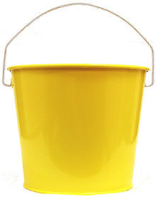 5Qt. Sunshine Yellow Pail