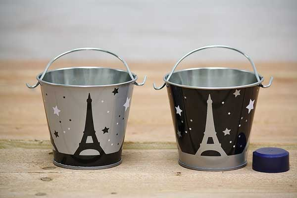 Paris Party Favor Pail