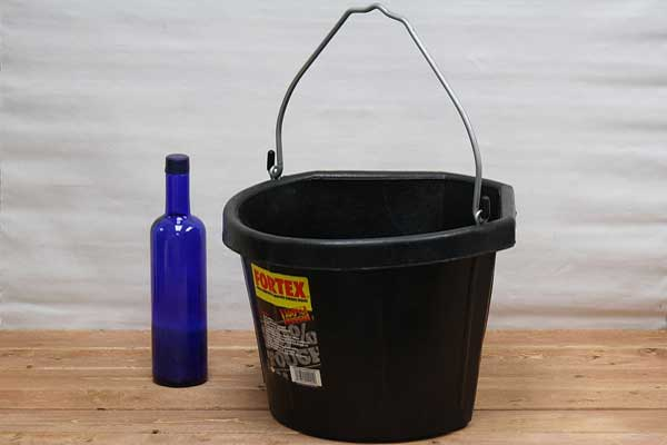 Rubber Bucket Rubber Feed Bucket Bucket Outlet