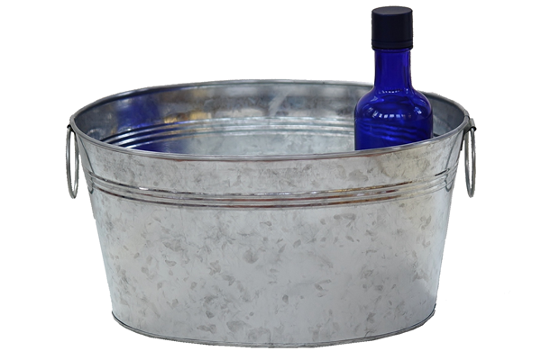 6 Quart Metal Tub