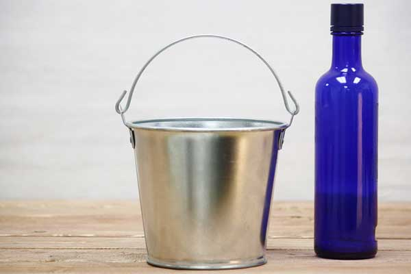 Small Galvanized Pail