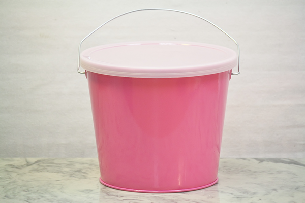 Storage Buckets With Lids