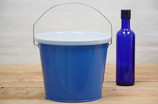 Blue Bucket With Lid