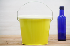 Yellow Bucket With Lid