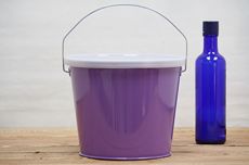 Purple Bucket With Lid