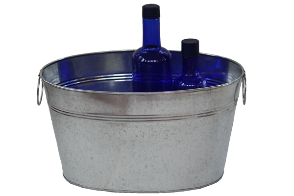 11 Quart Classic Metal Tub