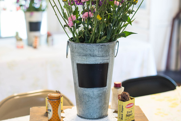 A Perfect Flower Bucket Idea