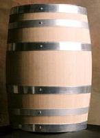 Toasted Oak Wine Barrels