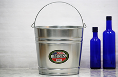 12 Quart Galvanized SteelMetal Bucket