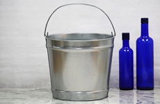 12 Quart Galvanized Metal Bucket