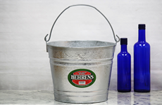 12 Quart Hot Dip Galvanized Bucket