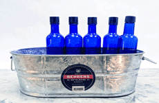 galvanized metal ice party tub 2 gallon