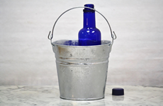 2 Quart Hot Dipped Bucket with top mounted handle