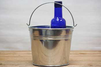 3 Quart Tin Bucket