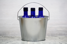 5 Quart Galvanized Ice Bucket