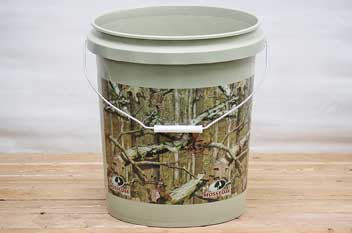 Encore Plastics Outdoor Camouflage Buckets