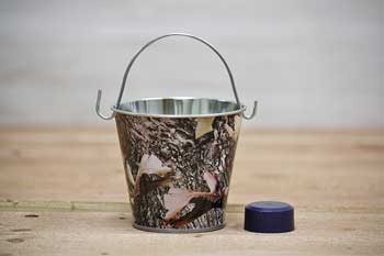 Mini Camo Party Favor Pail