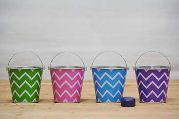 Chevron Favor Pails